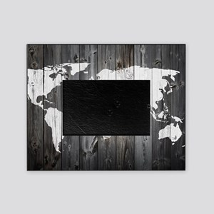 World Map Art Picture Frame