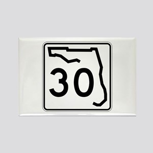 Route 30, Florida Rectangle Magnet