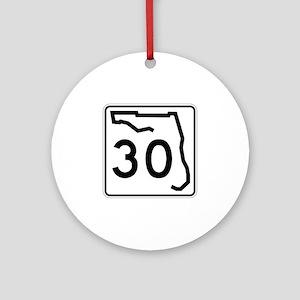Route 30, Florida Ornament (Round)
