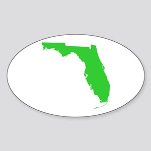 florida state silhouette Sticker