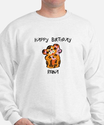 Happy Birthday Reina (tiger) Sweater