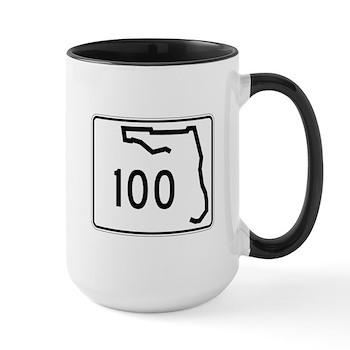 Route 100, Florida Large Mug