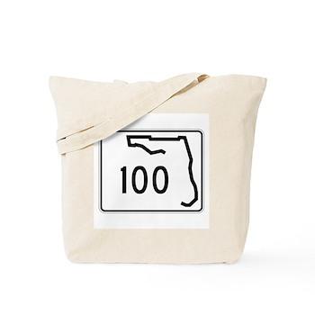 Route 100, Florida Tote Bag