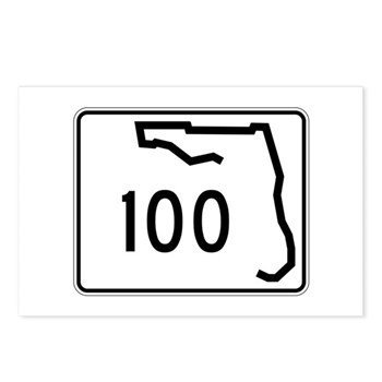 Route 100, Florida Postcards (Package of 8)