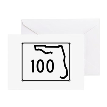 Route 100, Florida Greeting Cards (Pk of 10)