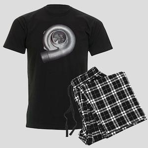 blank-cafe-turbo Men's Dark Pajamas