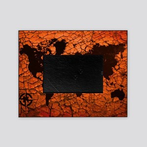 World Map Picture Frame