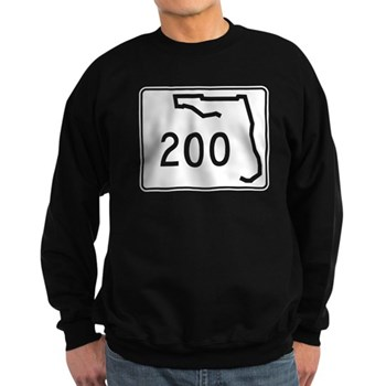Route 200, Florida Sweatshirt (dark)