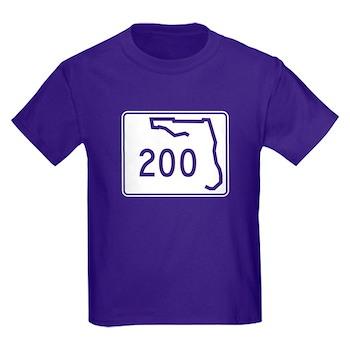 Route 200, Florida Kids Dark T-Shirt