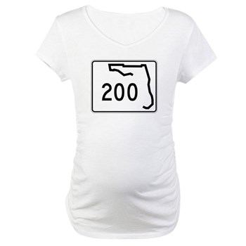 Route 200, Florida Maternity T-Shirt