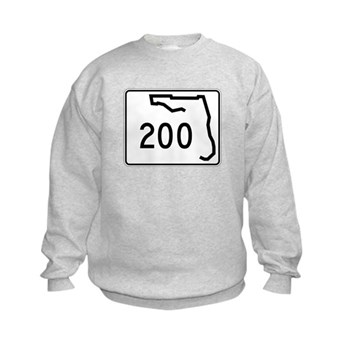 Route 200, Florida Kids Sweatshirt