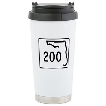 Route 200, Florida Stainless Steel Travel Mug