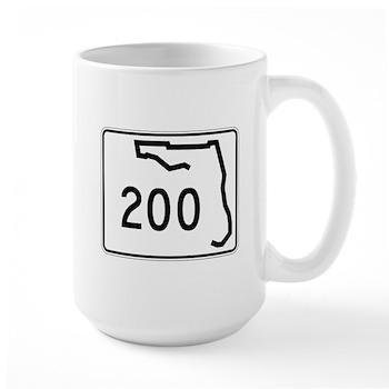 Route 200, Florida Large Mug
