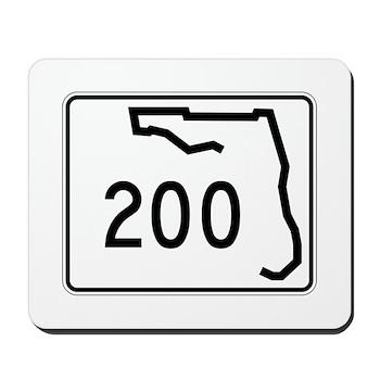 Route 200, Florida Mousepad