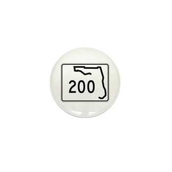 Route 200, Florida Mini Button (10 pack)