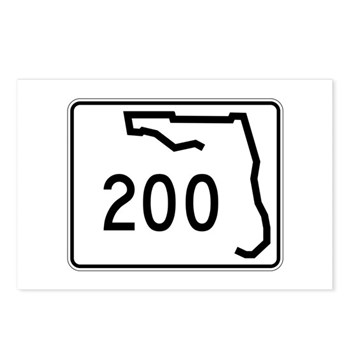 Route 200, Florida Postcards (Package of 8)