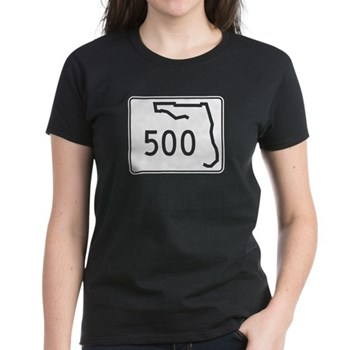 Route 500, Florida Women's Dark T-Shirt