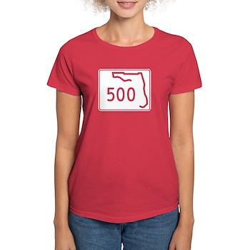 Route 500, Florida Women's Dark T-Shirt