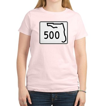 Route 500, Florida Women's Light T-Shirt