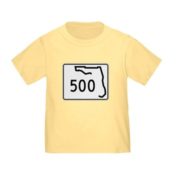 Route 500, Florida Toddler T-Shirt