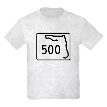 Route 500, Florida Kids Light T-Shirt