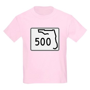 Route 500, Florida Kids Light T-Shirt