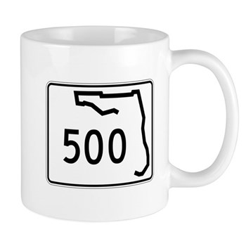 Route 500, Florida Mug