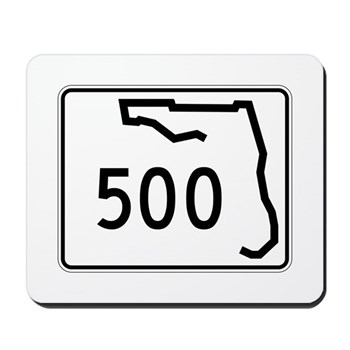 Route 500, Florida Mousepad