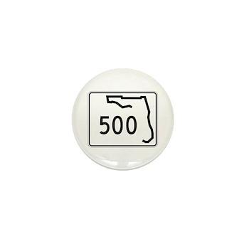 Route 500, Florida Mini Button (100 pack)