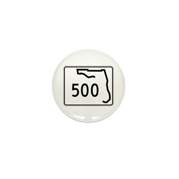 Route 500, Florida Mini Button (10 pack)