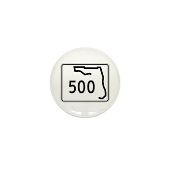 Route 500, Florida Mini Button