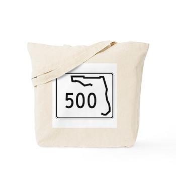 Route 500, Florida Tote Bag