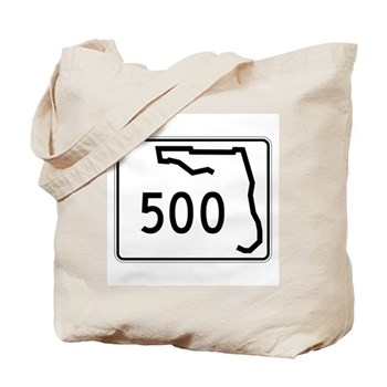 Route 500, Florida Tote Bag
