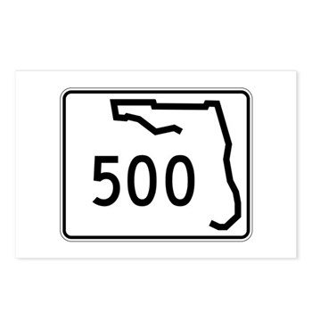 Route 500, Florida Postcards (Package of 8)