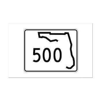 Route 500, Florida Mini Poster Print