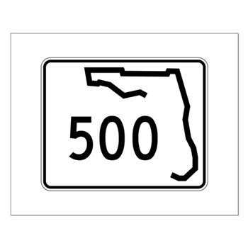 Route 500, Florida Small Poster