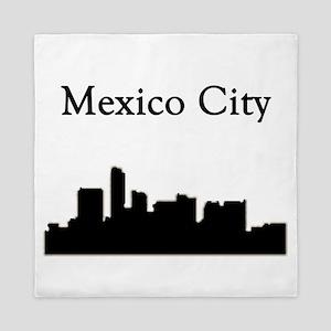 Mexico City Skyline Queen Duvet