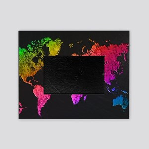 World Map Design Picture Frame