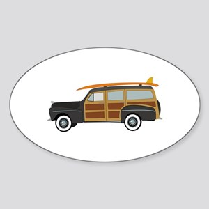 Surfer Car Sticker