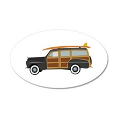 Surfer Car Wall Decal