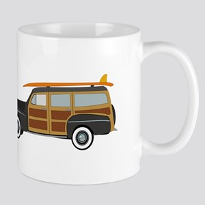 Surfer Car Mugs