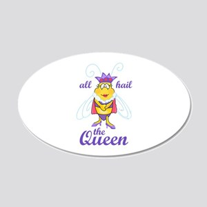 ALL HAIL THE QUEEN Wall Decal