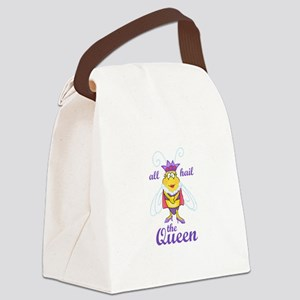 ALL HAIL THE QUEEN Canvas Lunch Bag