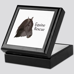 EQUINE RESCUE Keepsake Box