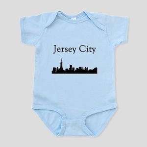 Jersey City Skyline Body Suit