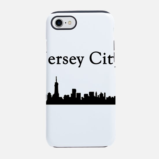 Jersey City Skyline iPhone 7 Tough Case