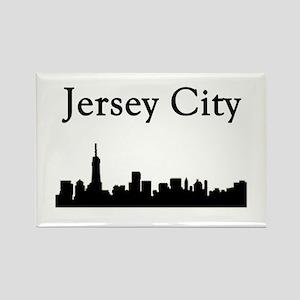Jersey City Skyline Magnets