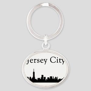 Jersey City Skyline Keychains