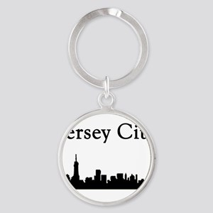 Jersey City Skyline Keychains