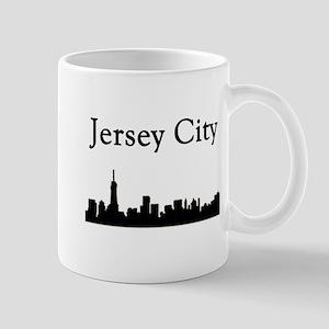 Jersey City Skyline Mugs